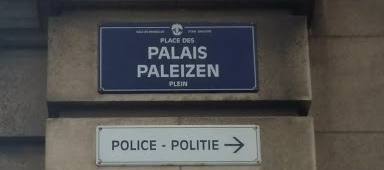 Street Sign Brussels